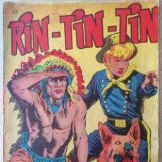 Tebeos: RIN-TIN-TIN - EL GARAÑON DE TEXAS Nº 59 - MARCO 1958. Lote 241904175