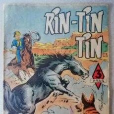 Tebeos: RIN-TIN-TIN - LADRONES DE CABALLOS Nº 80 - MARCO 1958. Lote 241929770