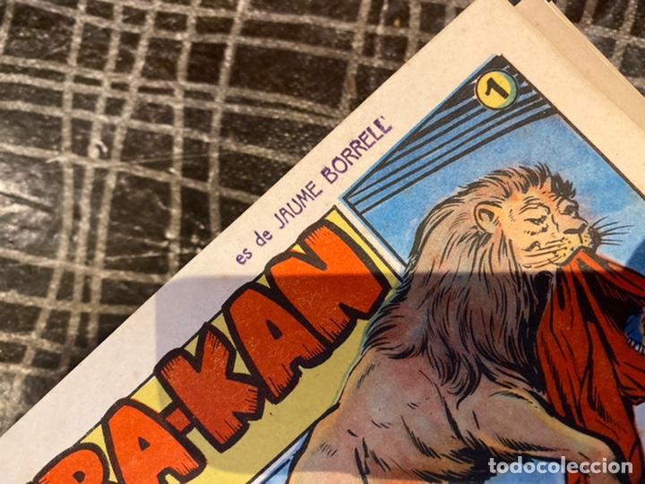 Tebeos: Coleccion completa 60 tebeos simba- kan rey del leonés . Encuadernados en un tomo . Originales 1959. - Foto 7 - 242137545