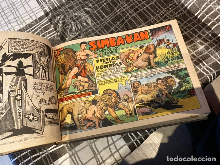 Tebeos: Coleccion completa 60 tebeos simba- kan rey del leonés . Encuadernados en un tomo . Originales 1959. - Foto 11 - 242137545