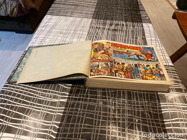 Tebeos: Coleccion completa 60 tebeos simba- kan rey del leonés . Encuadernados en un tomo . Originales 1959. - Foto 2 - 242137545