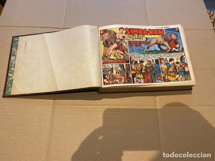 COLECCION COMPLETA 60 TEBEOS SIMBA- KAN REY DEL LEONÉS . ENCUADERNADOS EN UN TOMO . ORIGINALES 1959. (Tebeos y Comics - Marco - Otros)