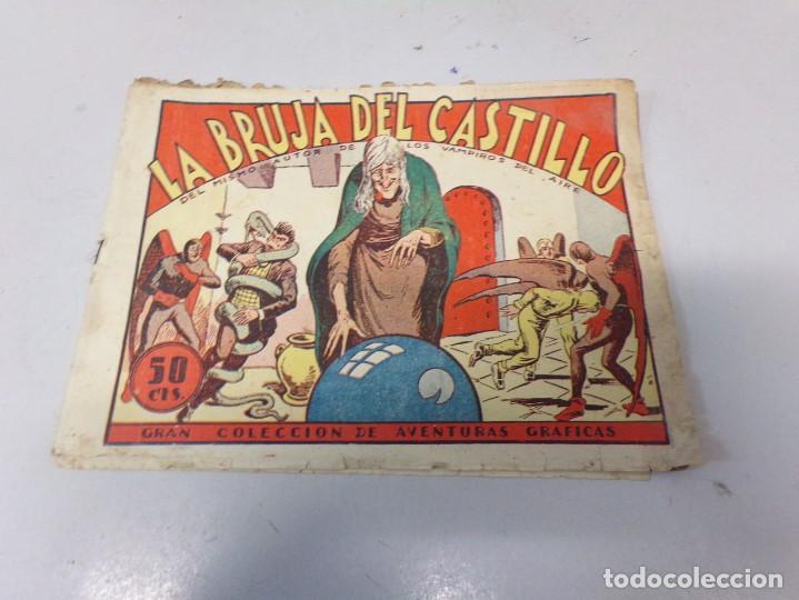 LA BRUJA DEL CASTILLO COLECCION AVENTURAS GRAFICAS MARCO ANTIGUO ORIGINAL (Tebeos y Comics - Marco - Otros)