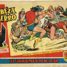 Tebeos: CABEZA DE HIERRO ORIGINAL COMPLETA 13 EJEMPLARES. Lote 242291590