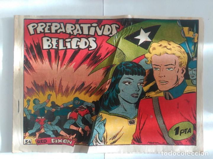RED DIXON Nº34 (Tebeos y Comics - Marco - Red Dixon)