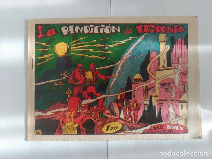RED DIXON Nº40 (Tebeos y Comics - Marco - Red Dixon)