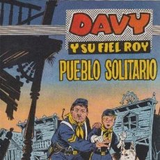 Tebeos: DAVY Y SU FIEL ROY- Nº 278 -PUEBLO SOLITARIO-1966-GRAN RICARDO BEYLOC-BUENO-ÚNICO EN TC-LEAN-4337. Lote 243172420