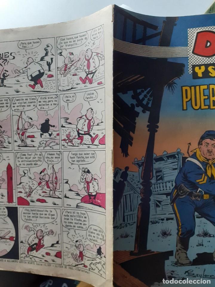 Tebeos: DAVY Y SU FIEL ROY- Nº 278 -PUEBLO SOLITARIO-1966-GRAN RICARDO BEYLOC-BUENO-ÚNICO EN TC-LEAN-4337 - Foto 3 - 243172420