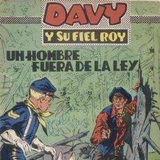 Tebeos: DAVY Y SU FIEL ROY- Nº 323 -UN HOMBRE FUERA DE LA LEY-1967-MASCARÓ-CORRECTO-ÚNICO EN TC-LEAN-4338. Lote 243177215