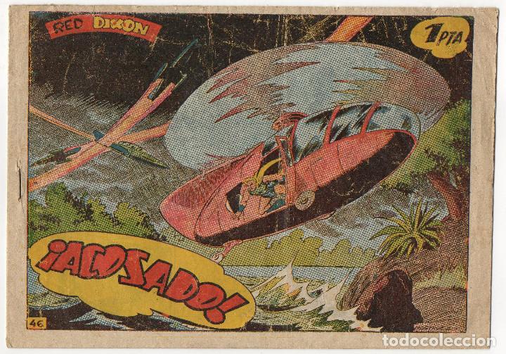 RED DIXON Nº 46 (MARCO 1ª SERIE 1954) (Tebeos y Comics - Marco - Red Dixon)