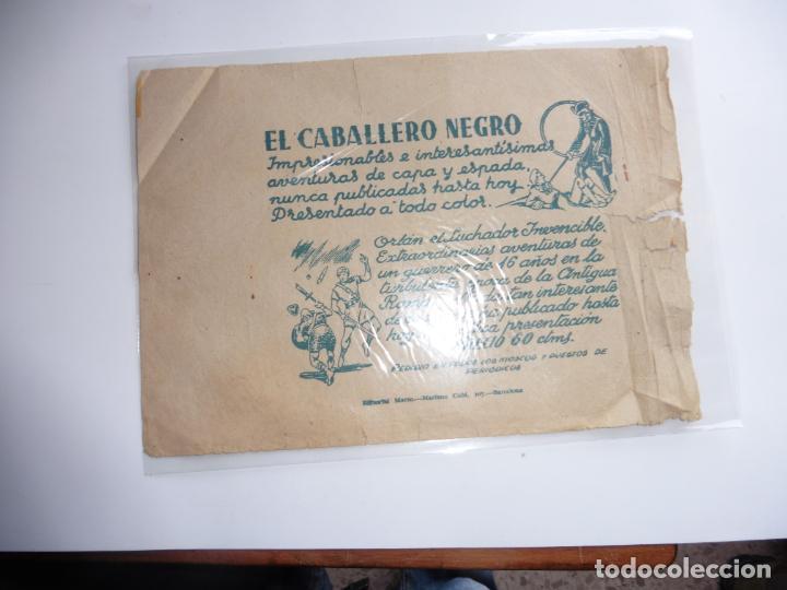 Tebeos: CAPITAN ENIGMA Nº 2 MARCO 1946 ORIGINAL - Foto 3 - 243619550
