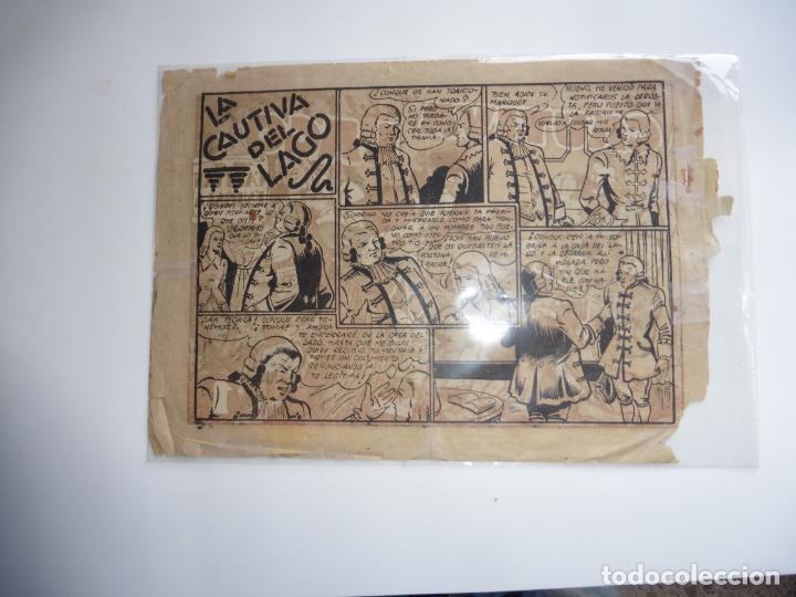 Tebeos: CAPITAN ENIGMA Nº 4 MARCO 1946 ORIGINAL - Foto 2 - 243620045