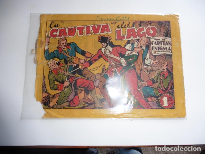 CAPITAN ENIGMA Nº 4 MARCO 1946 ORIGINAL (Tebeos y Comics - Marco - Otros)