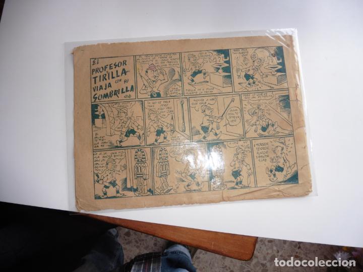 Tebeos: CAPITAN ENIGMA Nº 6 MARCO 1946 ORIGINAL - Foto 2 - 243621040