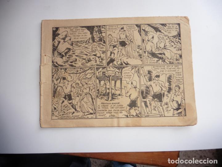 Tebeos: CAPITAN ENIGMA Nº 6 MARCO 1946 ORIGINAL - Foto 3 - 243621040
