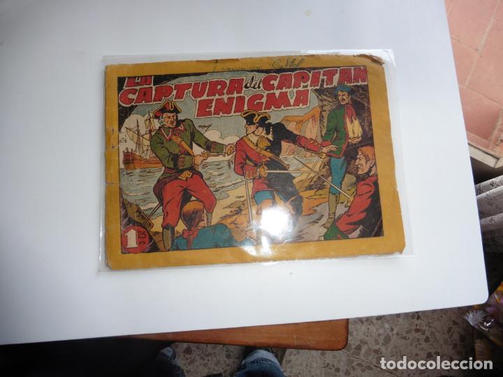 CAPITAN ENIGMA Nº 6 MARCO 1946 ORIGINAL (Tebeos y Comics - Marco - Otros)