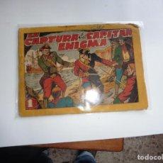 Tebeos: CAPITAN ENIGMA Nº 6 MARCO 1946 ORIGINAL. Lote 243621040