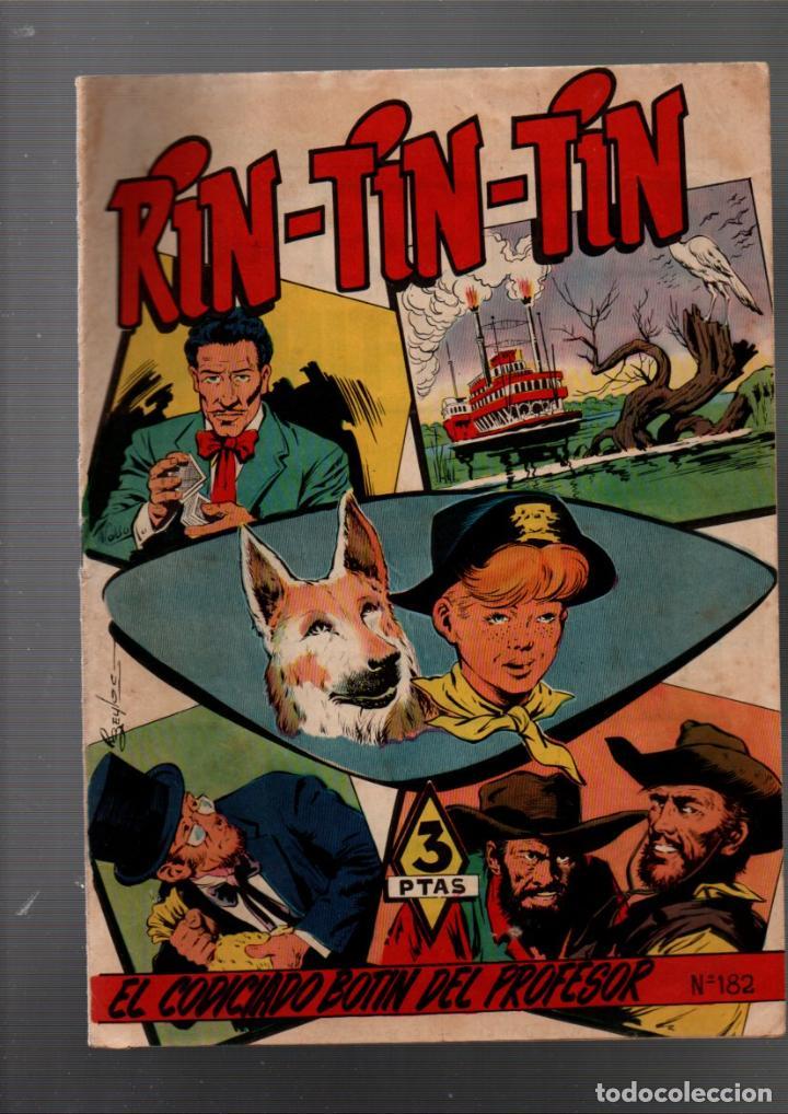 RIN-TIN-TIN Nº 182. EL CODICIADO BOTIN DEL PROFESOR. EDITORIAL MARCO 1958 (Tebeos y Comics - Marco - Rin-Tin-Tin)