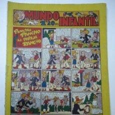 Giornalini: MUNDO INFANTIL Nº 27 PINCHO PANCHO Y LA PAREJA DEL RANCHO BIEN CONSERVADO EDITORIAL MARCO AÑO 1948. Lote 248196125