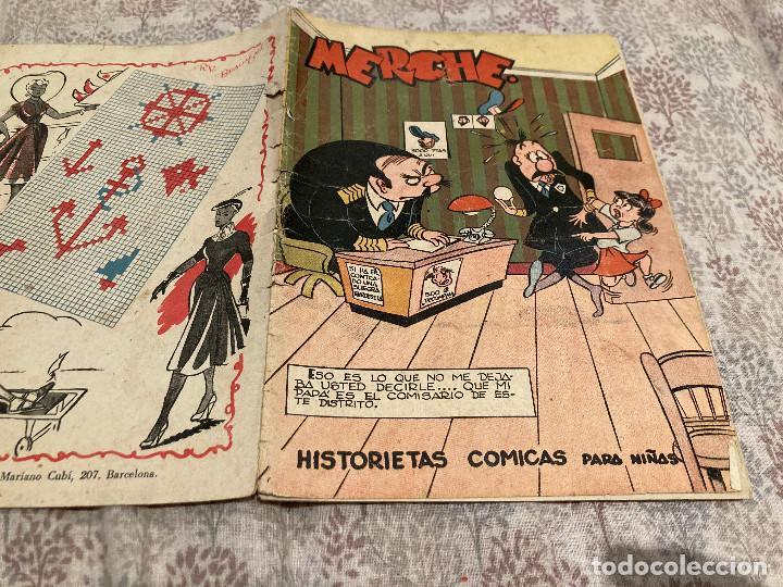 MERCHE Nº 102 HISTORIETAS COMICAS EDITORIAL MARCO 1950 (Tebeos y Comics - Marco - Otros)