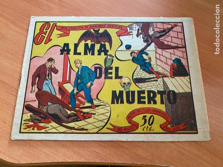 GRAN COLECCION DE AVENTURAS GRAFICAS. EL ALMA DEL MUERTO (MARCO) ORIGINAL (COIB6) (Tebeos y Comics - Marco - Otros)