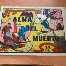 Tebeos: GRAN COLECCION DE AVENTURAS GRAFICAS. EL ALMA DEL MUERTO (MARCO) ORIGINAL (COIB6). Lote 254202240