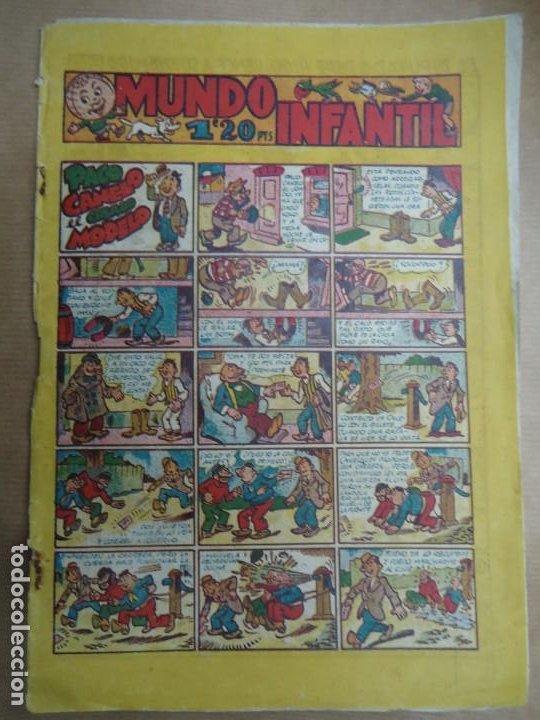 MUNDO INFANTIL PACO CANELO EL CRIADO MODELO EDIT. MARCO. BARCELONA. AÑOS 40. MIDE 24,5 X 17 CM. (Tebeos y Comics - Marco - Otros)