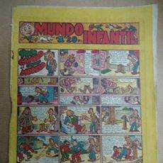 Tebeos: MUNDO INFANTIL PACO CANELO EL CRIADO MODELO EDIT. MARCO. BARCELONA. AÑOS 40. MIDE 24,5 X 17 CM.. Lote 254381965