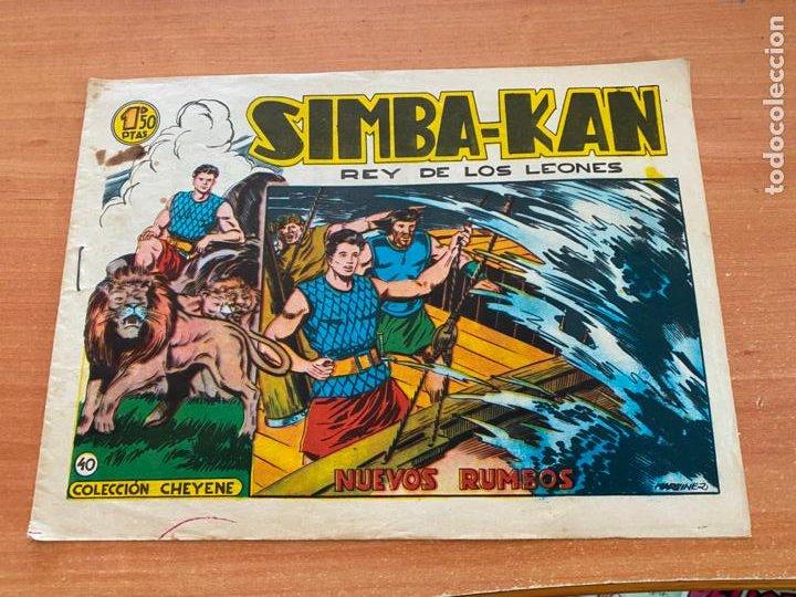 SIMBA-KAN REY DE LOS LEONES Nº 40 NUEVOS RUMBOS (MARCO) ORIGINAL (COIB26) (Tebeos y Comics - Marco - Otros)