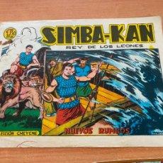 Tebeos: SIMBA-KAN REY DE LOS LEONES Nº 40 NUEVOS RUMBOS (MARCO) ORIGINAL (COIB26). Lote 255426920