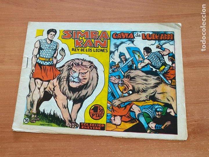 SIMBA-KAN REY DE LOS LEONES Nº 38 CASTA DE LUCHADOR (MARCO) ORIGINAL (COIB26) (Tebeos y Comics - Marco - Otros)