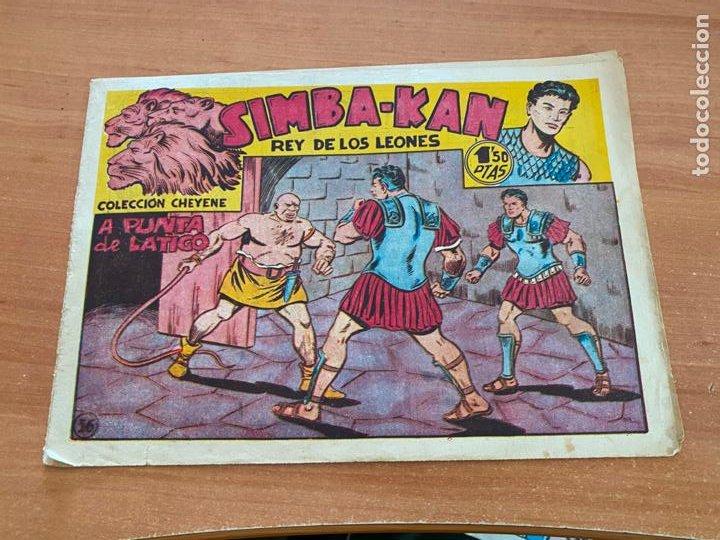 SIMBA-KAN REY DE LOS LEONES Nº 36 A PUNTA DE LATIGO (MARCO) ORIGINAL (COIB26) (Tebeos y Comics - Marco - Otros)