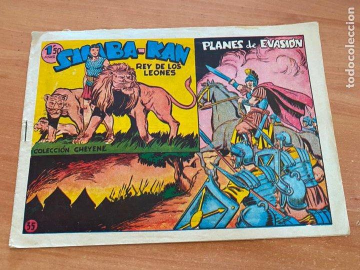 SIMBA-KAN REY DE LOS LEONES Nº 35 PLANES DE VASION (MARCO) ORIGINAL (COIB26) (Tebeos y Comics - Marco - Otros)