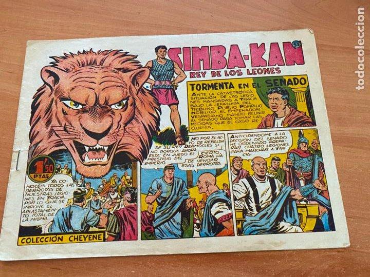 SIMBA-KAN REY DE LOS LEONES Nº 33 TORMENTA EN EL SENADO (MARCO) ORIGINAL (COIB26) (Tebeos y Comics - Marco - Otros)