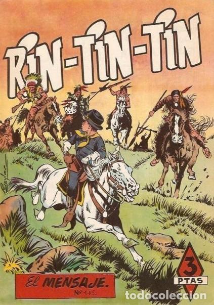 RIN TIN TIN- Nº 175 -EL MENSAJE-J. ROSELLÓ-J. CASTILLO-1964-MUY BUENO-DIFÍCIL-ÚNICO EN TC-LEA-4602 (Tebeos y Comics - Marco - Rin-Tin-Tin)