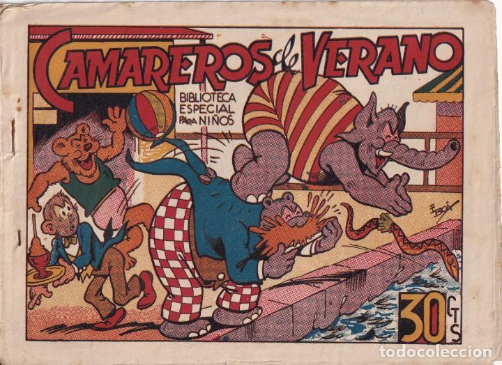 BIBLIOTECA ESPECIAL PARA NIÑOS: CAMAREROS DE VERANO, EDITORIAL MARCO (Tebeos y Comics - Marco - Hipo (Biblioteca especial))