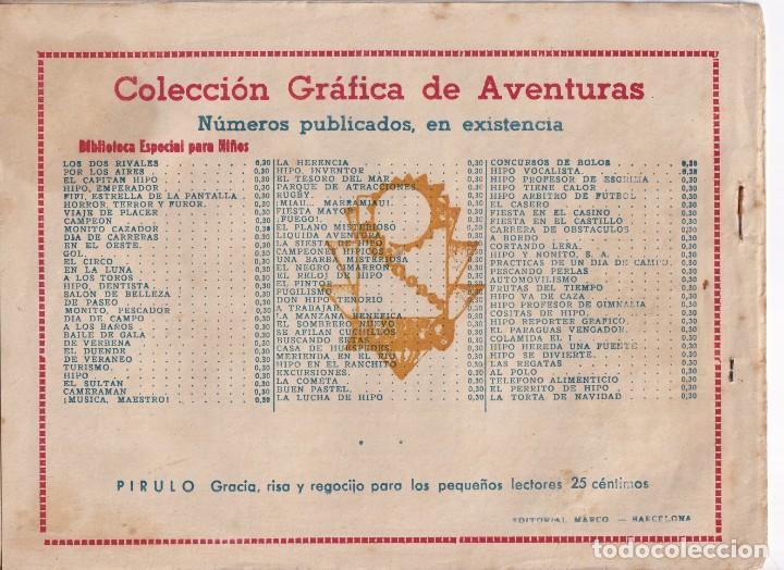 Tebeos: BIBLIOTECA ESPECIAL PARA NIÑOS: CAMAREROS DE VERANO, EDITORIAL MARCO - Foto 2 - 258107800