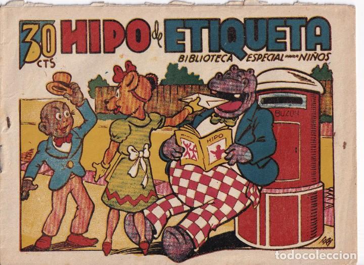 BIBLIOTECA ESPECIAL PARA NIÑOS: HIPO DE ETIQUETA , EDITORIAL MARCO (Tebeos y Comics - Marco - Hipo (Biblioteca especial))