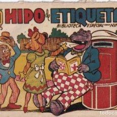 Tebeos: BIBLIOTECA ESPECIAL PARA NIÑOS: HIPO DE ETIQUETA , EDITORIAL MARCO. Lote 258108200