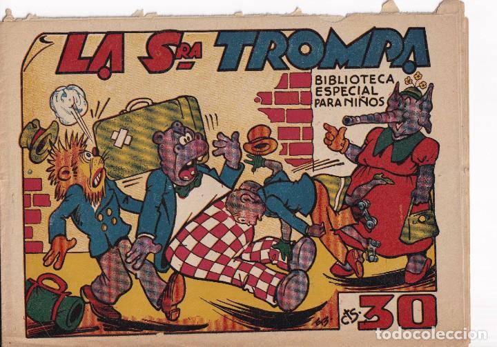BIBLIOTECA ESPECIAL PARA NIÑOS: LA SRA. TROMPA , EDITORIAL MARCO (Tebeos y Comics - Marco - Hipo (Biblioteca especial))