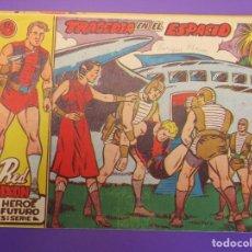 Tebeos: RED DIXON (1958, MARCO) 18 · 8-VIII-1958 · TRAGEDIA EN EL ESPACIO. Lote 258266415