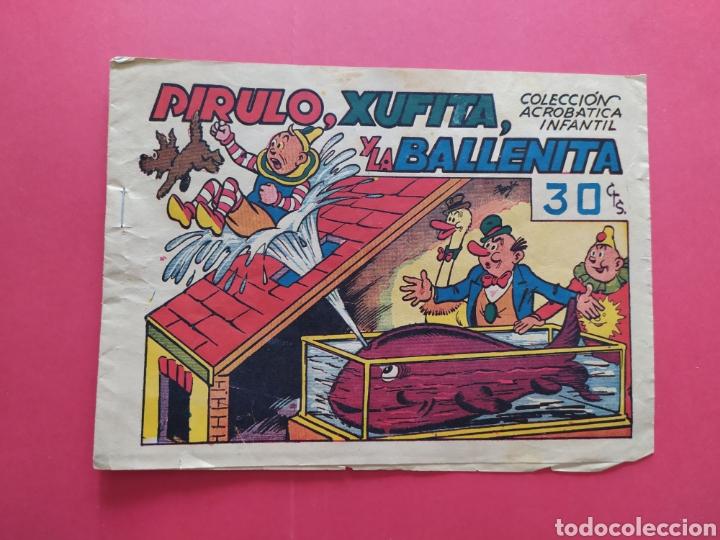 PIRULO, XUFITA Y LA BALLENITA - COLECCIÓN ACROBÁTICA INFANTIL (Tebeos y Comics - Marco - Acrobática Infantil)