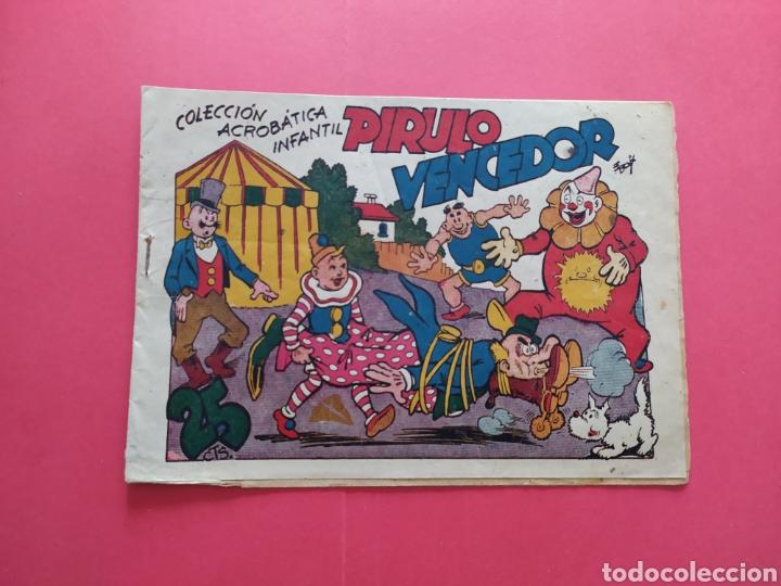 PIRULO VENCEDOR - COLECCIÓN ACROBÁTICA INFANTIL (Tebeos y Comics - Marco - Acrobática Infantil)