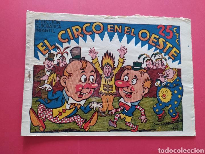 EL CIRCO EN EL OESTE - COLECCIÓN ACROBÁTICA INFANTIL (Tebeos y Comics - Marco - Acrobática Infantil)