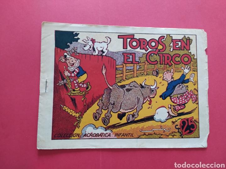TOROS EN EL CIRCO - COLECCIÓN ACROBÁTICA INFANTIL (Tebeos y Comics - Marco - Acrobática Infantil)