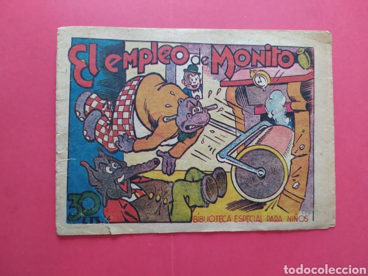 EL EMPLEO DE MONITO - BIBLIOTECA ESPECIAL PARA NIÑOS (Tebeos y Comics - Marco - Hipo (Biblioteca especial))