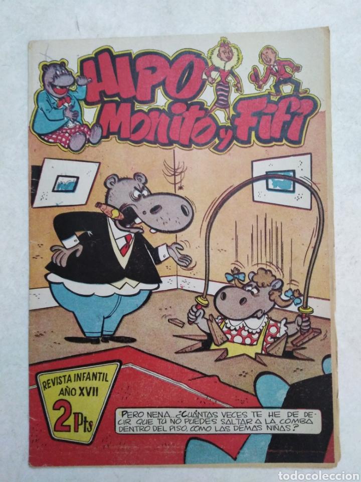CÓMIC HIPO MONITO Y FIFI, REVISTA INFANTIL AÑO XVII, DIFÍCIL DE CONSEGUIR (Tebeos y Comics - Marco - Hipo (Biblioteca especial))