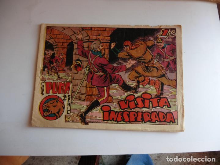 PUMA 2ª Nº 9 MARCO ORIGINAL (Tebeos y Comics - Marco - Otros)