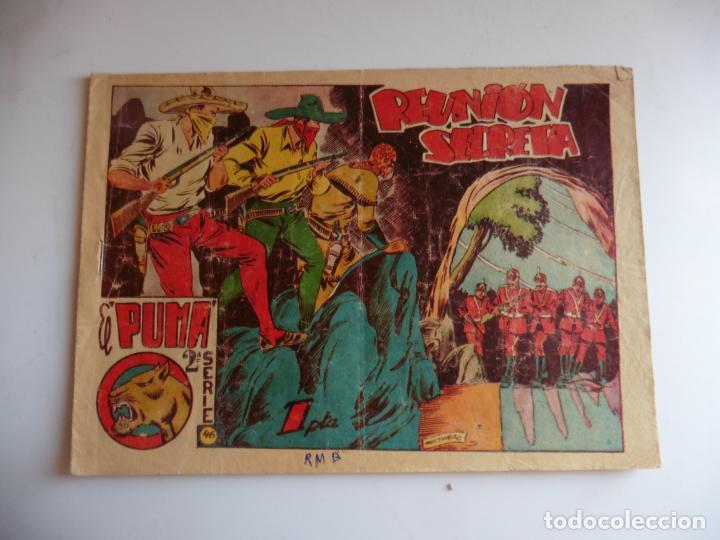 PUMA 2ª Nº 46 MARCO ORIGINAL (Tebeos y Comics - Marco - Otros)