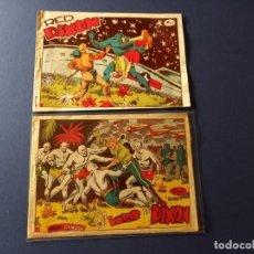 Tebeos: RED DIXON PRIMERA SERIE Nº 1 Y Nº 12 MARCO ORIGINAL- BUEN ESTADO-LEER DESCRIPCION. Lote 262462475